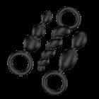 Satisfyer Plugs - Zwart 1