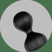 Highlight - Satisfyer Anal Beads Zwart - 1